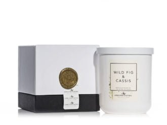 Living Pure Natural Wild Fig & Cassis Soy Candle