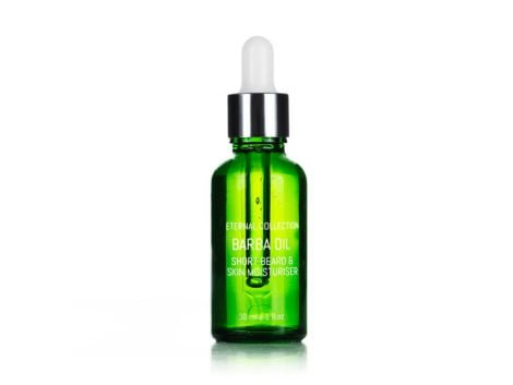 Living Pure Natural BARBA OIL Short beard and skin moisturizer