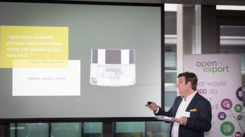 Living Pure Natural - Open to Export Presentation CEO Aris Tsinias